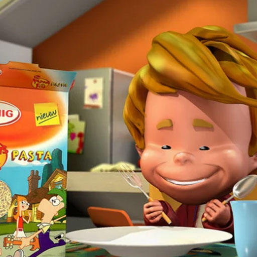 Honig – Phineas and Ferb Pasta
